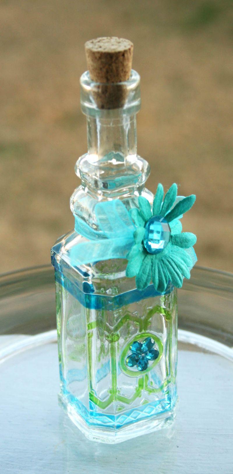 Floral bottle