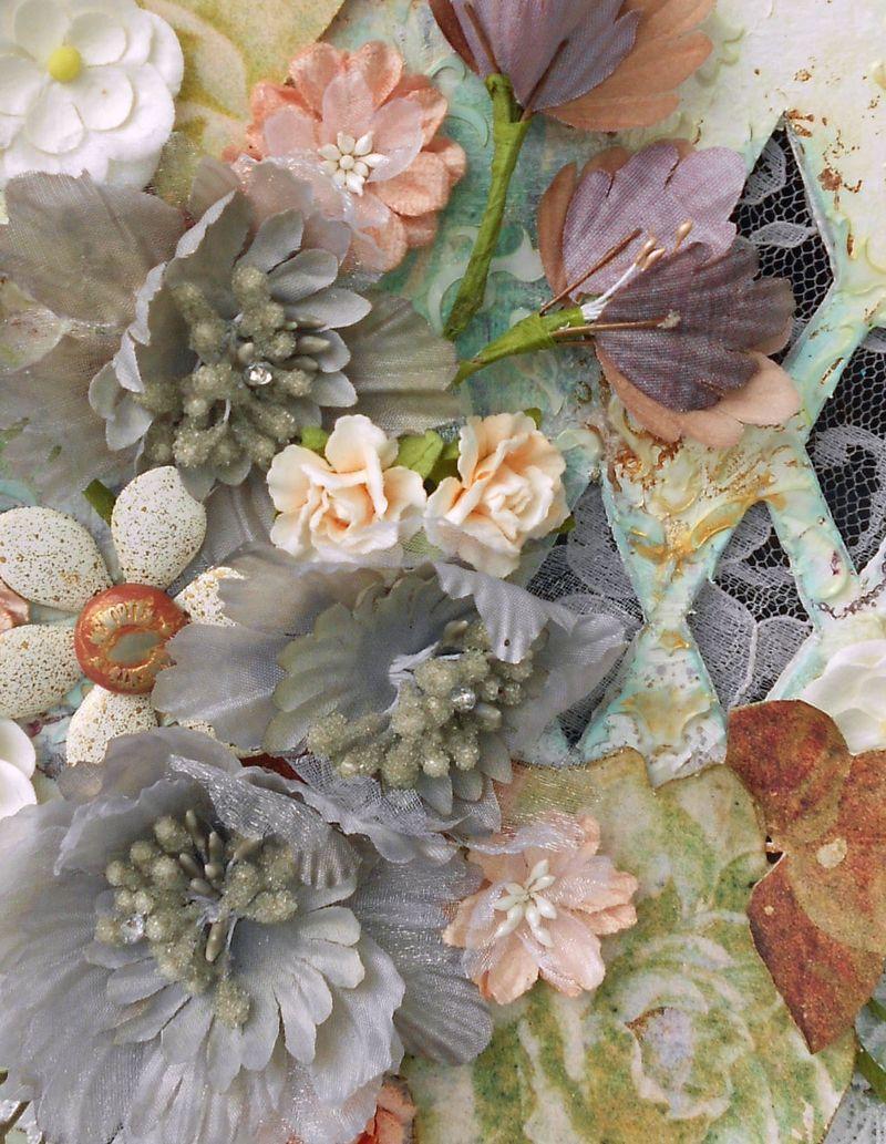 Floral Purse Cluster