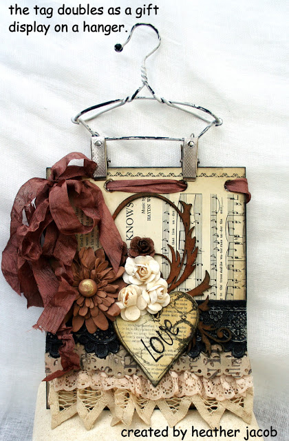 IT'S A WRAP DISPLAY TAG created by heather jacob