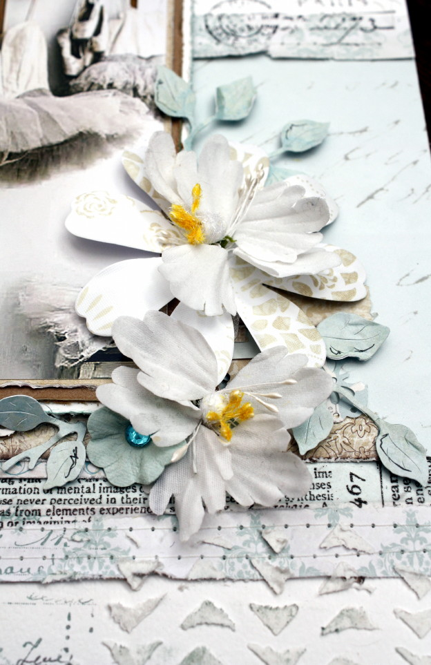 Love by Heather Jacob blooms cluster September GD kit