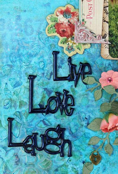 Live Love Laugh Title